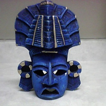 AZTEC POTTERY WALL MASK