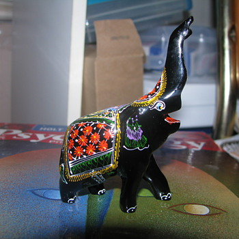 Detailed Indian Elephant 