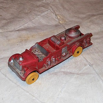 Auburn Fire Dept. No 2 Rubber Fire Engine - Toys