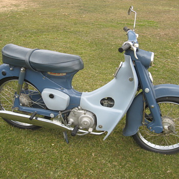 1964 Honda CA100 C100 Cub 50 push-rod engine - Motorcycles