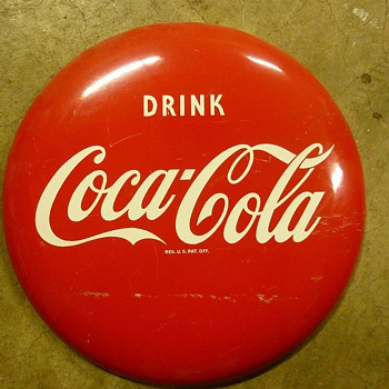 Follow up, Pictures of the small sign, mounting location on side of machine, etc. - Coca-Cola