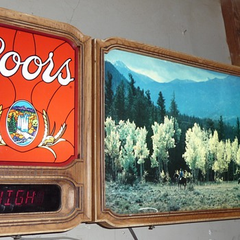 Coors Vintage Beer sign - Signs