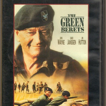 """The Green Berets"" DVD - John Wayne"