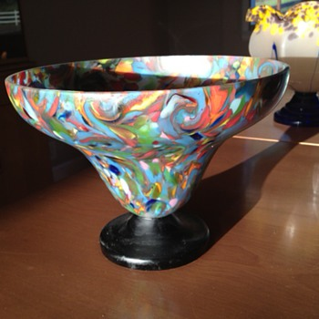 Large Kralik or Ruckl bowl