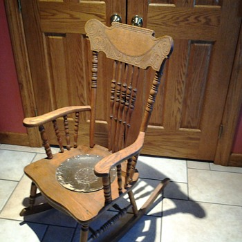 older rocking chair