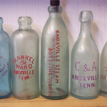 EX-RARE KNOXVILLE SODAS . - Bottles