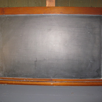 Old School Blackboard - But How Old???