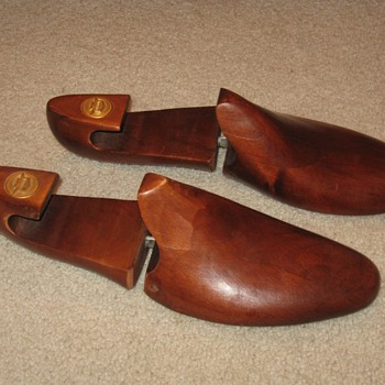 Wooden Florsheim Shoe Forms