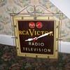 Vintage R C A Victor Clock Radio Television