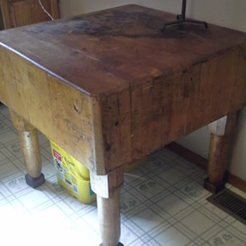 Large butcher block - Kitchen