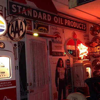 Standard Oil Products Porcelain Sign...Two Colors
