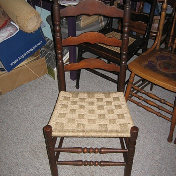 Ladder back  - Furniture
