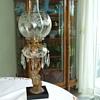 Bradley & Hubbard # 3200B Model - FIGURE STEM OIL LAMP- Early 1880's