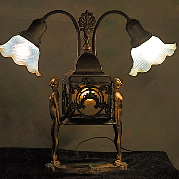 My Art Deco Lamp  - Art Deco