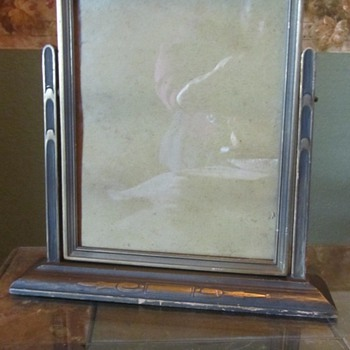 Old Swivel Picture Frame - Furniture