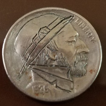 Hobo nickel of unknown carver and age