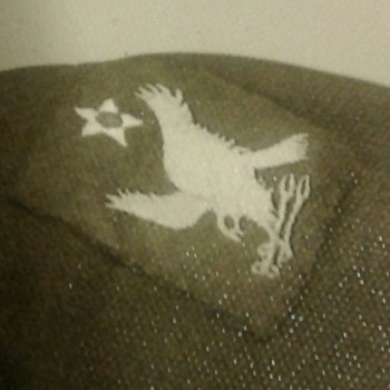 war patch. Unidentified.
