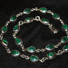 Mexican 925 Vintage Malachite Necklace