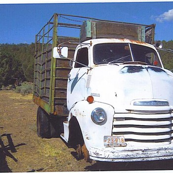 1948 Chevy c. o. e.