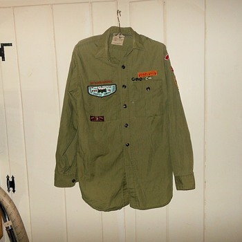 Vintage Boy Scout Shirt Early 1960s - Sporting Goods