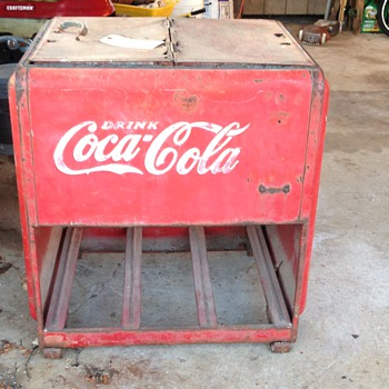 Westinghouse Standard Cooler - Coca-Cola