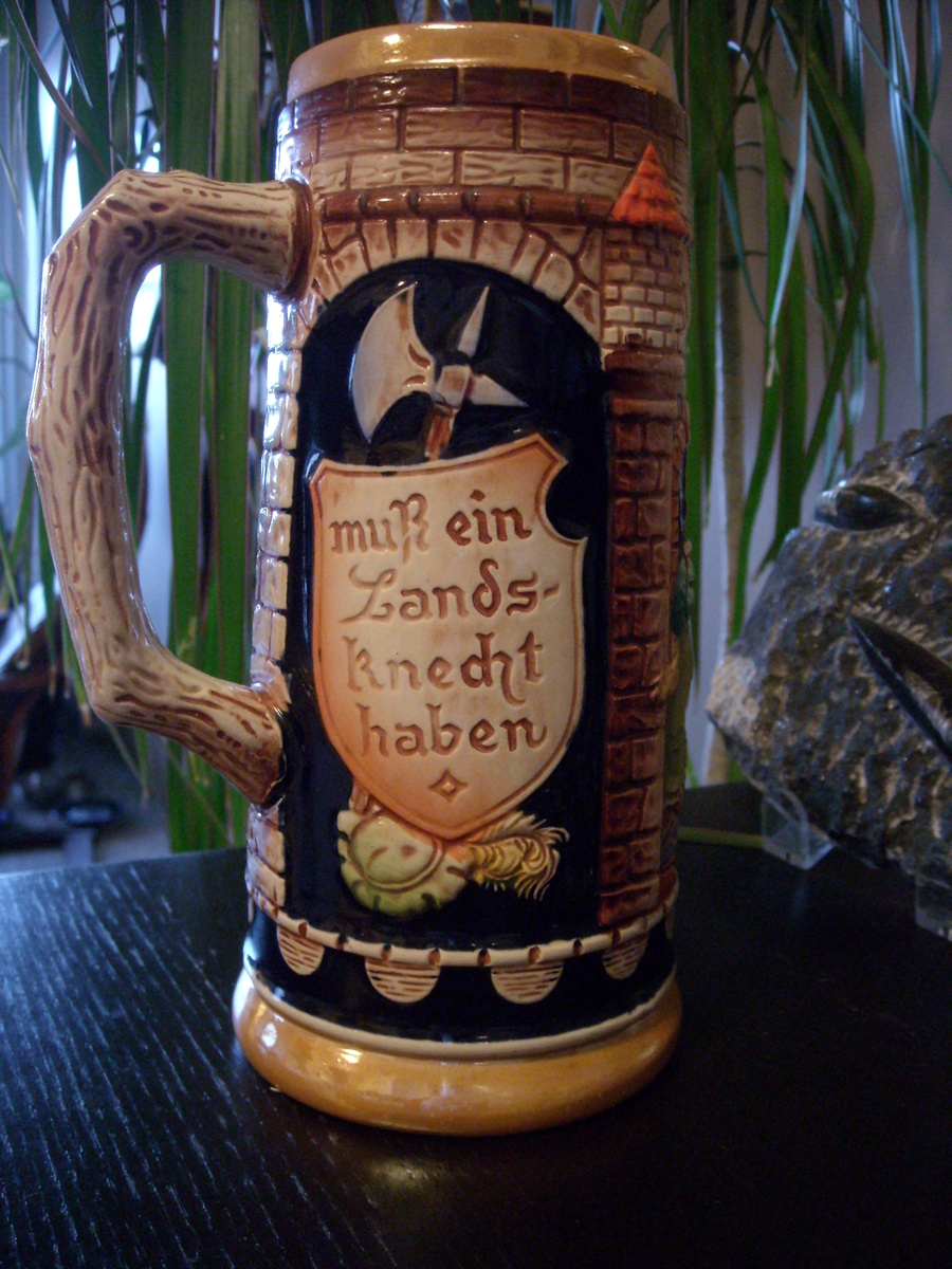Gerz West Germany Lidded Beer Stein from ... |Vintage West Germany Beer Steins