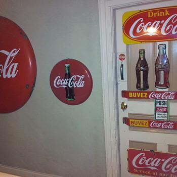 Coca-Cola Themometer