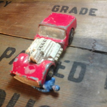 Matchbox  Road Dragster