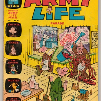 1971 - SAD SACK'S Army Life Comic Book