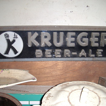 krueger beer light - Breweriana