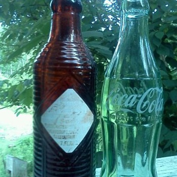 Coke and Orange Crush from today - Bottles