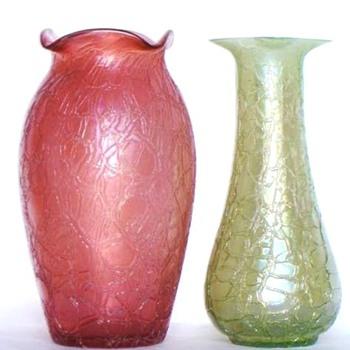 KRALIK ROUGH AND SOFT CRACKLE 1 - Art Glass
