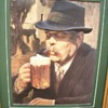 Moretti Man Beer Raised Poster