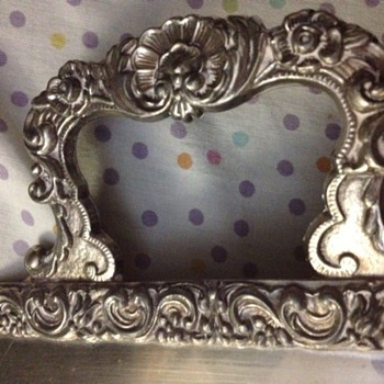 Trying to find the maker of an Antique Silver Footed Tray