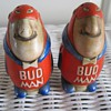 """Bud Man"" Budweiser Salt and pepper shakers from 1969"