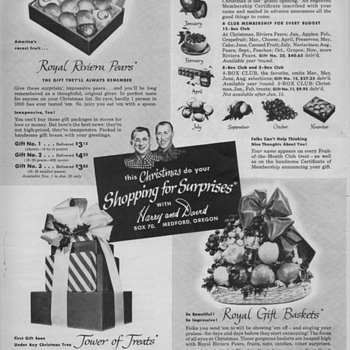 1950 Harry & David Advertisement - Advertising