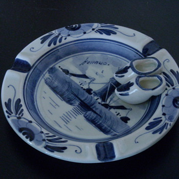Delft Ashtray - Tobacciana