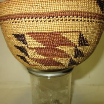 Lake Tahoe CA. Washoe Indians  Basket
