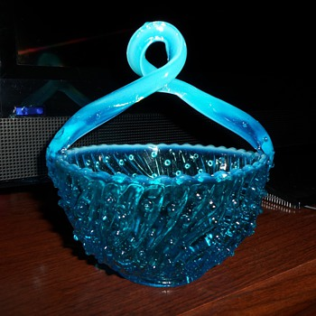 Jefferson Glass Co. May Basket #87 pattern Early 1900's