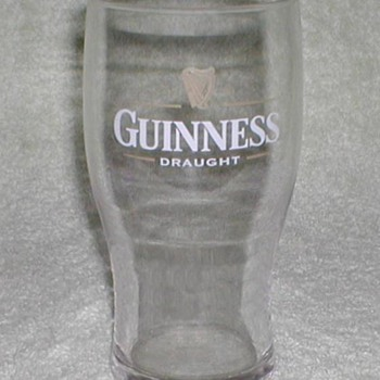 Guinness Beer Glass - Breweriana