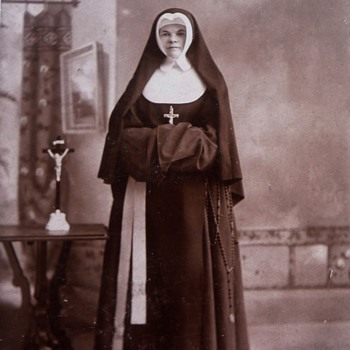 From My Collection of Antique Nun Photographs 