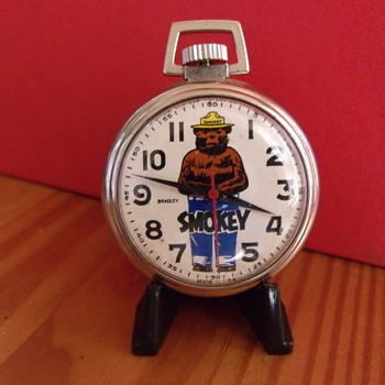 Official Smokey The Bear Pocket Watch - Pocket Watches