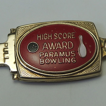 High Score Award PARAMUS NJ Bowling - Key Ring - Tools and Hardware