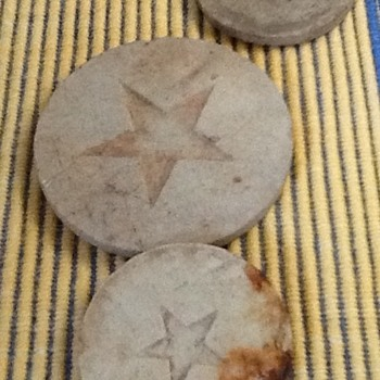 Mystery Star Ceramic/Clay Circles