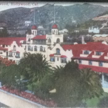 Hotel Hollywood Postcard