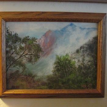 Painting of Kalalau Valley, Kauai, Hawaii - Visual Art