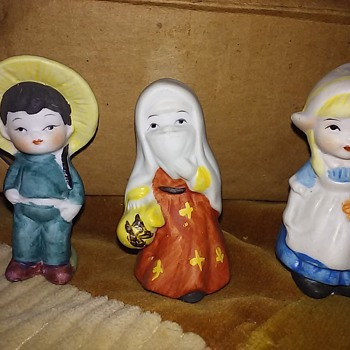 Set of 12 Children of Culture Figurines by Napco