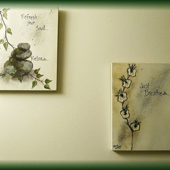 Wall Canvas Pictures -- Inspirational -- RHONDA KULLBERG - Visual Art