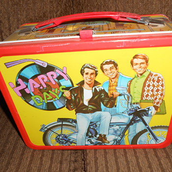 happy days ..fonzi lunch box