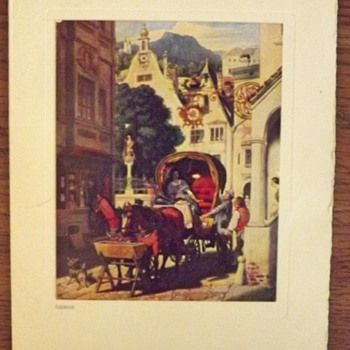 German Greeting Card - Paper